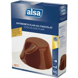 Préparation pour entremets flan au chocolat