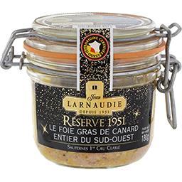 Jean Larnaudie Réserve 1951 - Foie gras de canard entier Sud Ouest...