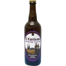 L'Eurélienne Bière artisanale ambrée myrte la bouteille de 75 cl