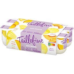 Aux Fruits - Assortiment de yaourt brassé 4 saveurs