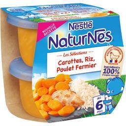 Les Sélections - Carottes, riz, poulet fermier, dès ...