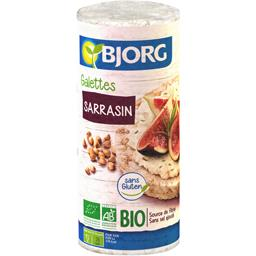 Bjorg Galettes riz complet sarrasin BIO
