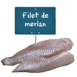 Filet de MERLAN La portion à la demande à partir de 150gr
