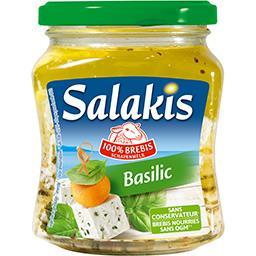 Salakis Fromage 100% brebis basilic
