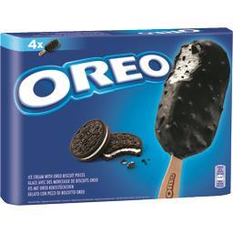 Oreo Glaces avec des morceaux de biscuits
