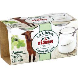 Yaourt nature 100% lait de chèvre
