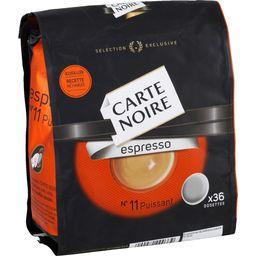 Dosettes de café moulu Espresso n°11