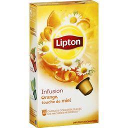 Capsules infusion orange touche de miel