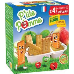 Spécialité de pomme P'tite Pomme & biscuits petits-beurre