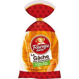 La Gâche des gourmands tranchée beurre frais & crème...
