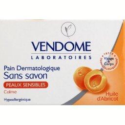 Pain dermatologique sans savon, peaux sensibles