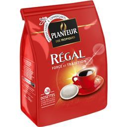 Régal, café torréfié moulu en dosettes