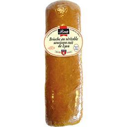 Brioche au véritable saucisson cuit de Lyon