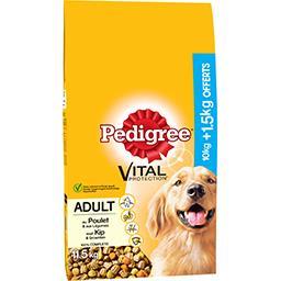 Croquettes Vital Protection poulet & légumes chiens adultes