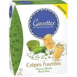 Crêpes fourrées fromage Boursin ail & fines herbes