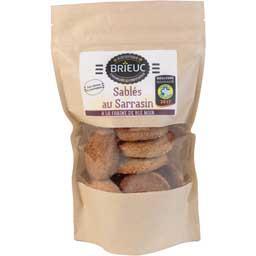 Biscuiterie Brieuc Sablés au sarrasin le paquet de 300 g
