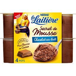 Secret de Mousse - Mousse lactée chocolat au lait