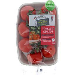 Tomates grappe Zéro résidu de Pesticides