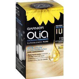 Olia - Coloration Super-éclaircissant blond beige 112