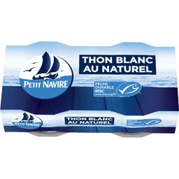 Thon blanc au naturel