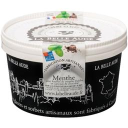 La Belle Aude Glace menthe chocolat le pot de 550 ml