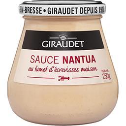 Sauce Nantua au fumet d'écrevisses maison