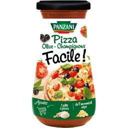 Sauce pizza olives champignons Facile