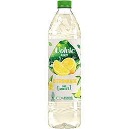 Eau minérale au jus de citron