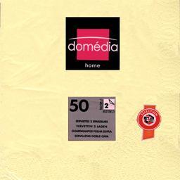 Home - Serviettes 2 épaisseurs 32,5x32,5 cm ivoire