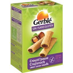 Sans Gluten - Crousti'pause cœur cacao noisette