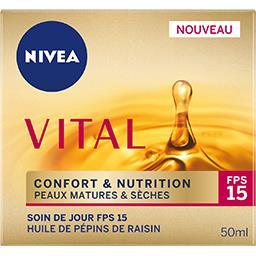 Nivea Vital - Soin de jour Confort & Nutrition peaux matur...