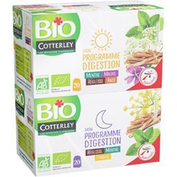 Bio Cotterley Infusion BIO Mon Programme Digestion les 20 sachets de 1,5 g