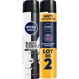 For Men - Déodorant 48h Power Invisible anti-traces blanches & jaunes