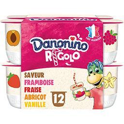 Danonino - Yaourts sucrés aux fruits Rigolo