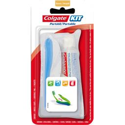 Kit brosse à dents souple + dentifrice