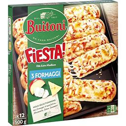 Fiesta ! - Pizza 3 fromages