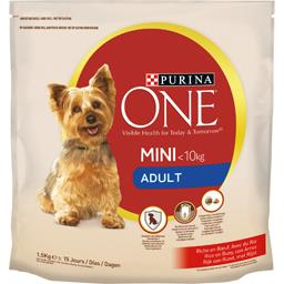 Purina One Purina One Croquettes My Dog is…Adult Mini 1-10 kg bœuf riz pou...