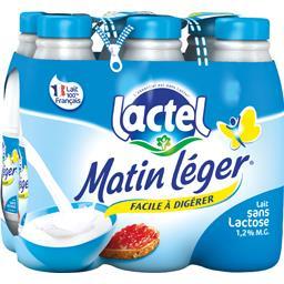 Lait sans lactose Matin Léger facile à digérer
