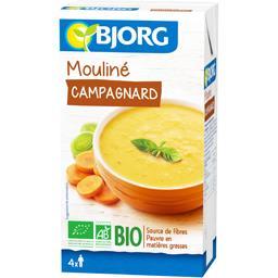 Soupe moulinée Bjorg,BJORG,la brique de 1l