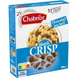 Céréales Muesli Crisp chocolat au lait