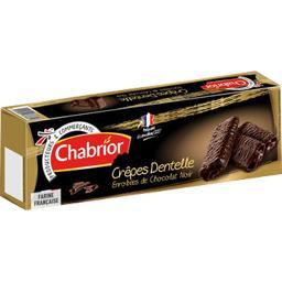 Crêpes Dentelle enrobées de chocolat noir