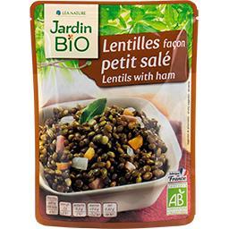 Jardin Bio Lentilles façon petit salé saveur terroir BIO
