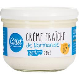 Crème fraîche de Normandie sans OGM