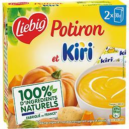 Liebig Doux Plaisir - Soupe potiron et Kiri