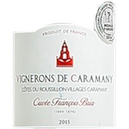 Côtes du roussillon villages aop, vin rouge