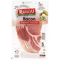 Bacon grandes tranches