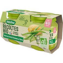 Les Récoltes BIO - Haricots verts pommes terre BIO, ...