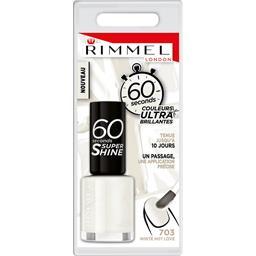 60 Sec Super Shine - Vernis à ongles White Hot Love ...