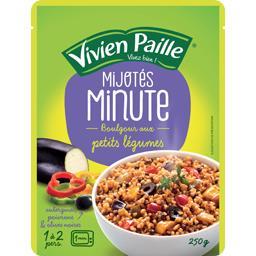 Mijotés Minute - Boulgour aux petits légumes