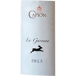 Terrasses du Larzac Château Capion - La Garenne vin Rouge 2013